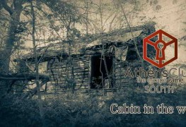 Cabin in the woods _ Athens Clue _ THE ULTIMATE LIVE ESCAPE GAME
