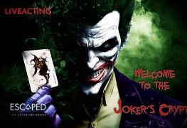 ROOM 104: JOKER'S CRYPT - Escaped - Αθήνα